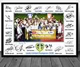 The Signature Shop Leeds United 2020 Champions, signierter