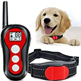 Dog Training Collar Dog Shock Collar for Dogs with Remote Training E Collar for Small Medium Dogs, Rechargeable Waterproof Training Collar, 1000Ft Range, 3 Training Modes Beep Vibration and Shock