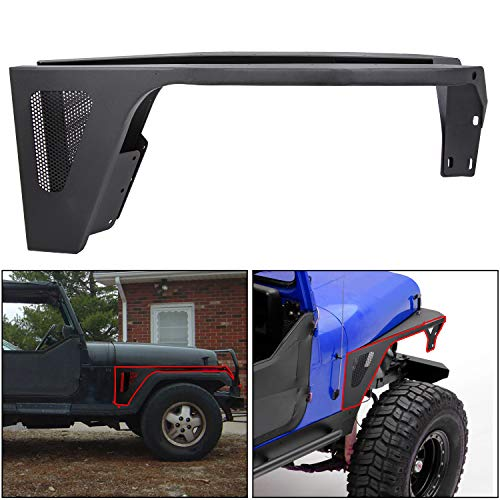 jeep yj front fender flares - 3