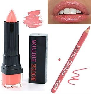 Kit Bourjois-Pintalabios rojo Edition + lápiz Contour de los labios (2productos)
