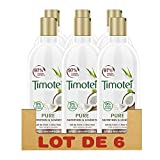 Timotei Après-Shampoing Femme Pure Nutrition et Légèreté, Lait de Coco et Aloé Vera, Idéal pour les cheveux normaux et secs (Lot de 6x300ml)