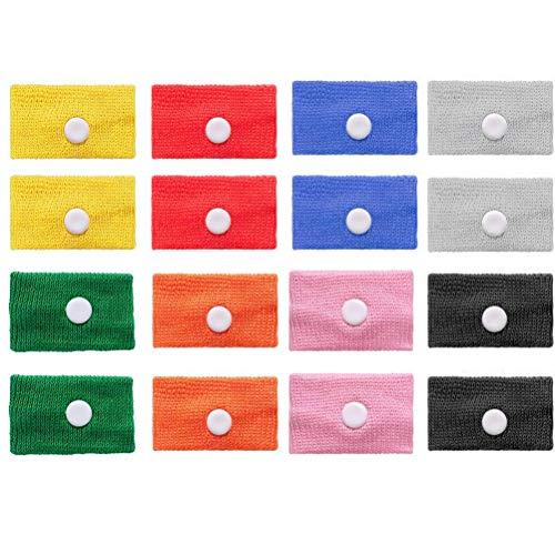 Preisvergleich Produktbild Akupressur Armband / 8 Paar Krankheitsbänder Bewegungs Gegen Übelkeit & Seekrankheit / Elastisches Band / Akupressur Band / Geeignet für die Schwangerschaft
