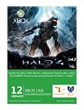 Xbox Live Gold 12 + 1 Monate - Halo 4 [import allemand]