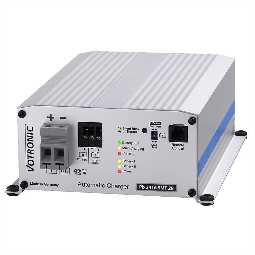 VOTRONIC 6232 Pb 2416 SMT 2B 24V 16A Batterieladeger/ät f/ür Bleibatterien
