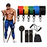 Cool-House 210cm Natural Pull Up Resistance Bands Rubber Loop Elastic Band Home Workout Gym Expander Strengthen Training Fitness Men-Pull Rope Sets-