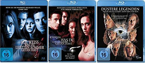 Ich weiß, was du letzten Sommer getan hast + Ich weiß noch immer, was Du letzten Sommer getan hast + Düstere Legenden [Blu-ray