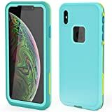 XYYJX iPhone Xs max case Waterproof dustproof Built-in Screen Protector Suitable for Daily and Harsh Environment use …