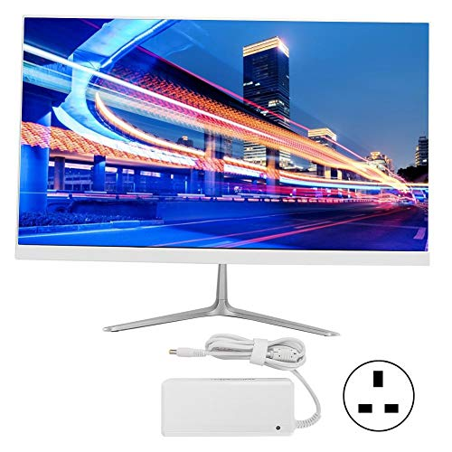 21.5 Inch Ultra‑Thin Computer, All‑in‑One Desktop Computer, Full HD 1920 x 1080P LED Display, i7 Processor, 8GB+256GB SSHD, Integrated Graphics for Office and Home(UK)