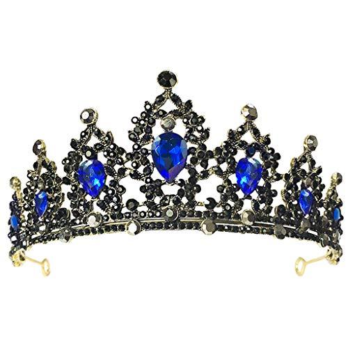 Yuanshenortey - Tiara para mujer, corona de boda