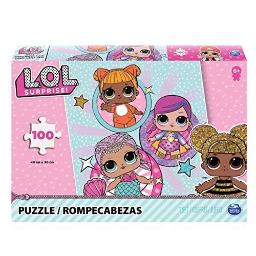 L.O.L. Puzzle - Rompecabezas (Rompecabezas de Figuras, Dibujos, Nios, Chica, 6 ao(s), Multicolor)