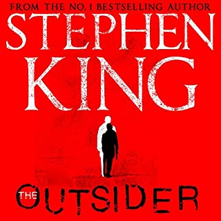 The Outsider                   By:                                                                                                                                 Stephen King                               Narrated by:                                                                                                                                 Will Patton                      Length: 18 hrs and 41 mins     2,509 ratings     Overall 4.5