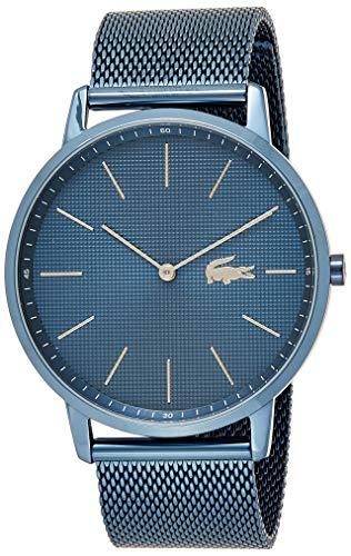 Lacoste Reloj Analógico para Hombre de Cuarzo con Correa en Acero Inoxidable 2011057