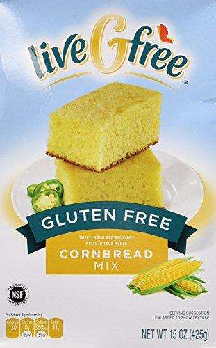 Live G Free Gluten Free Cornbread Mix