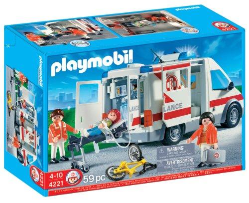 Playmobil 4221 - Ambulanza, Plastica