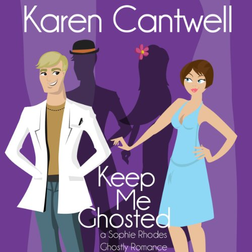 Keep Me Ghosted  audiobook cover art