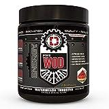 PREWOD Pre Workout - Creatine Free Nitric Oxide (NO) Boosting Preworkout Supplement   Caffeine, Citrulline Malate, Beta Alanine   Focus & Energy Drink Powder (Watermelon Thruster, 50 Servings)