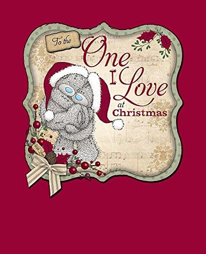 One I Love Peluche Me to You Carte de Noël faite à la main