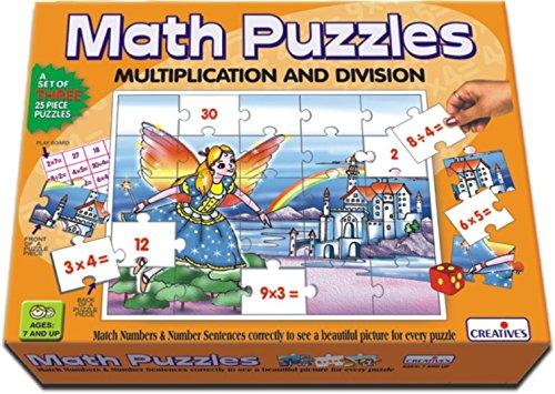 Creative Educational School Multiplikation und Division Mathematik-Puzzle