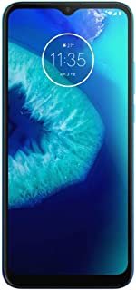 "Moto G8 Power Lite (64GB, 4GB) 6.5"", Dual SIM GSM Unlocked, 4G LTE International Model XT2055-2 (Turquoise)"