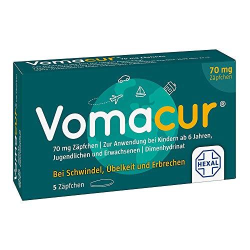 Vomacur 70 mg, 5 St. Zäpfchen