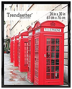 MCS Trendsetter Poster Back-Loading Wall Art & Puzzle Frame 24 x 30 in Black