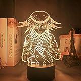 Danganronpa V3 Killing Harmony - Lámpara LED de noche para niños, Kokichi Oma