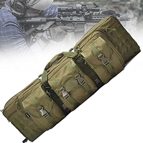 lxiluv Bolsa para Rifle Pistola Bolsa, Funda para Escopeta Fundas para Escopetas De Caza Rifle Bolsa Funda para Rifle De Caza Airsoft Caza Pistola Funda,Green-37inch