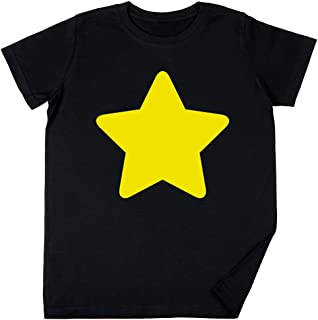 Vendax Universo Stella - Universo Bambini Ragazzi Ragazze Unisex Maglietta Nero