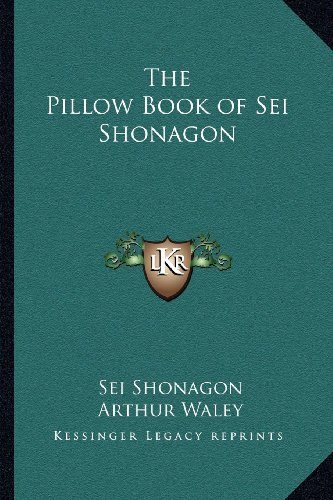Pillow Book of SEI Shonagon
