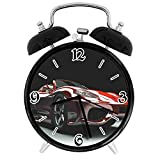 BeeTheOnly Exquisite alarm clock Cars Automotive Industry Powerful Engine Fast Technology Prestige Performance, RedSuitable for office bedroom study