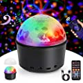 Disco Lights, Innoo Tech Sound Activated Ball Lights, 9 Colors Timed Mood Light for Kids, USB Charged Wireless Magic Ball with 2 in 1 USB Cable & Remote Control, for DJ Parties Car Stage Birthday