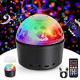 Disco Lights, Innoo Tech Sound Activated Ball Lights, 9 Colors Timed Mood Light