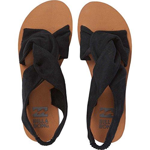 BILLABONG Damen Flache Sandale, Farbe: Schwarz, 37 EU