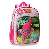 Trolls 2752351 True Colors Mochila Escolar, 40 cm, 19.2 litros, Multicolor