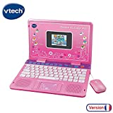 Vtech - 133865 - Ordinateur Pour Enfants - Genius Xl Color Pro Bilingue - Rose