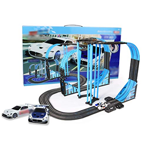 9m Pista Racing Slot Cars Aut Aventure Runway Kids Toy Boy Electric Control Remoto Pista Racer Sonic Tormenta Escalín Track Pista Longitud Carrera Sistemas Juguetes Empalnos Pista Juguete