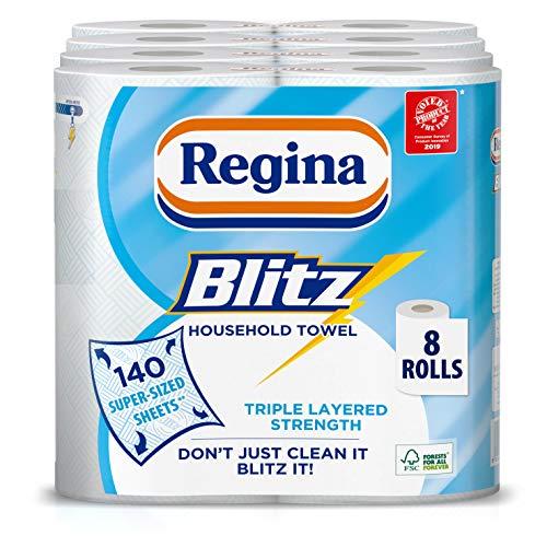 Asciugatutto Regina Blitz – Confezione da 4, totale 8
