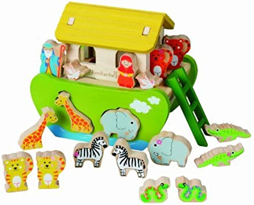 Everearth Shape Sorting Noah's Ark by EverEarth