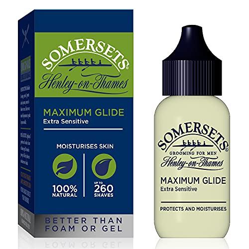 Somersets Maximum Glide Extra Sensitive Shaving Oil, 35 ml