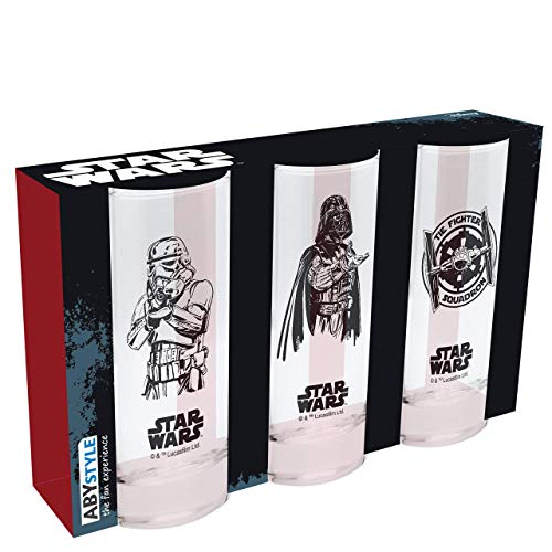 Star Wars - Set de 3 Vasos - Dark Vader,...