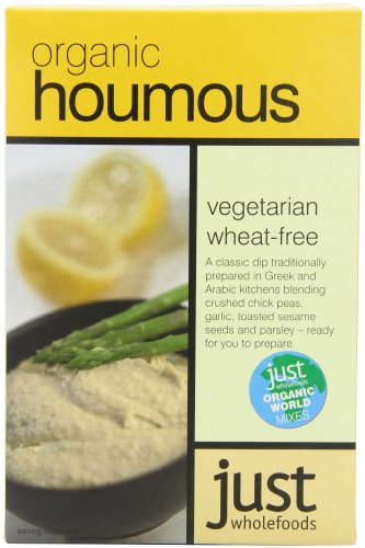 Just Wholefoods Organic Houmous Mix 125 g (Pack of 6)