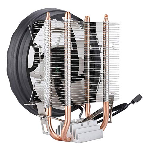 Tubo CPU Ventilador de refrigeración CPU Cooler CPU Refrigeración Radiador Radiador 12cm para PC para computadora de Escritorio