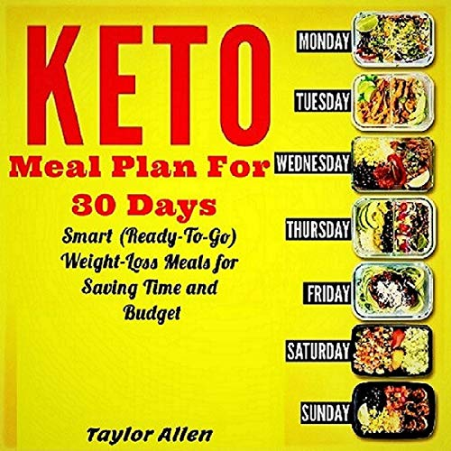 Keto Meal Plan for 30 Days cover art