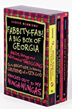 Fabbity-Fab! A Big Box of Georgia (Confessions of Georgia Nicolson)- On the Bright Side, I'm Now the Girlfriend of a Sex God / Knocked Out by My Nunga-Nungas / Angus, Thongs and Full-Frontal Snogging