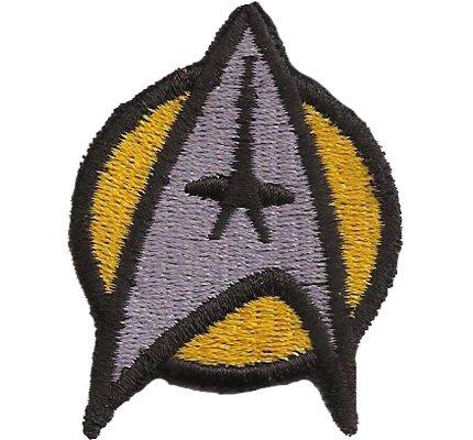 Star Trek StarTrek Captain Uniforme Disfraz AmarilloParche nadadores