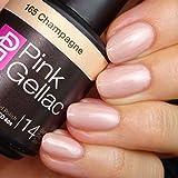 PINK Gellac 165 champagne UV nagellack. profesional Gel Esmalte de uñas Goma Laca para al menos 14 días Perfecto brillante uñas