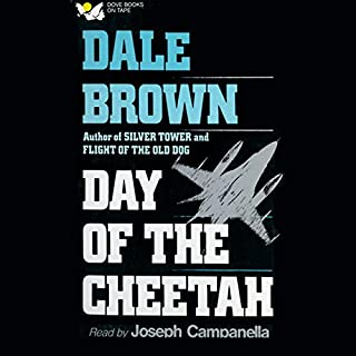 Day of the Cheetah audiobook cover art
