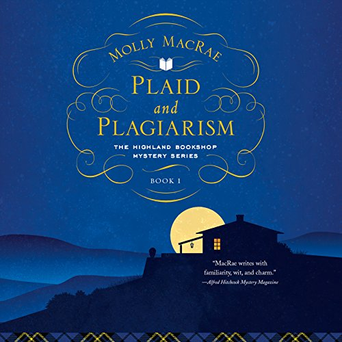 Plaid and Plagiarism audiobook cover art