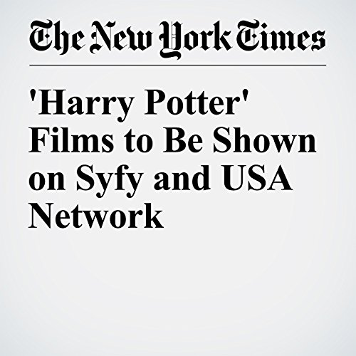 『'Harry Potter' Films to Be Shown on Syfy and USA Network』のカバーアート
