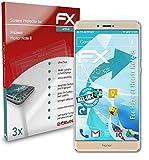 atFolix Schutzfolie kompatibel mit Huawei Honor Note 8 Folie, ultraklare & Flexible FX Bildschirmschutzfolie (3X)